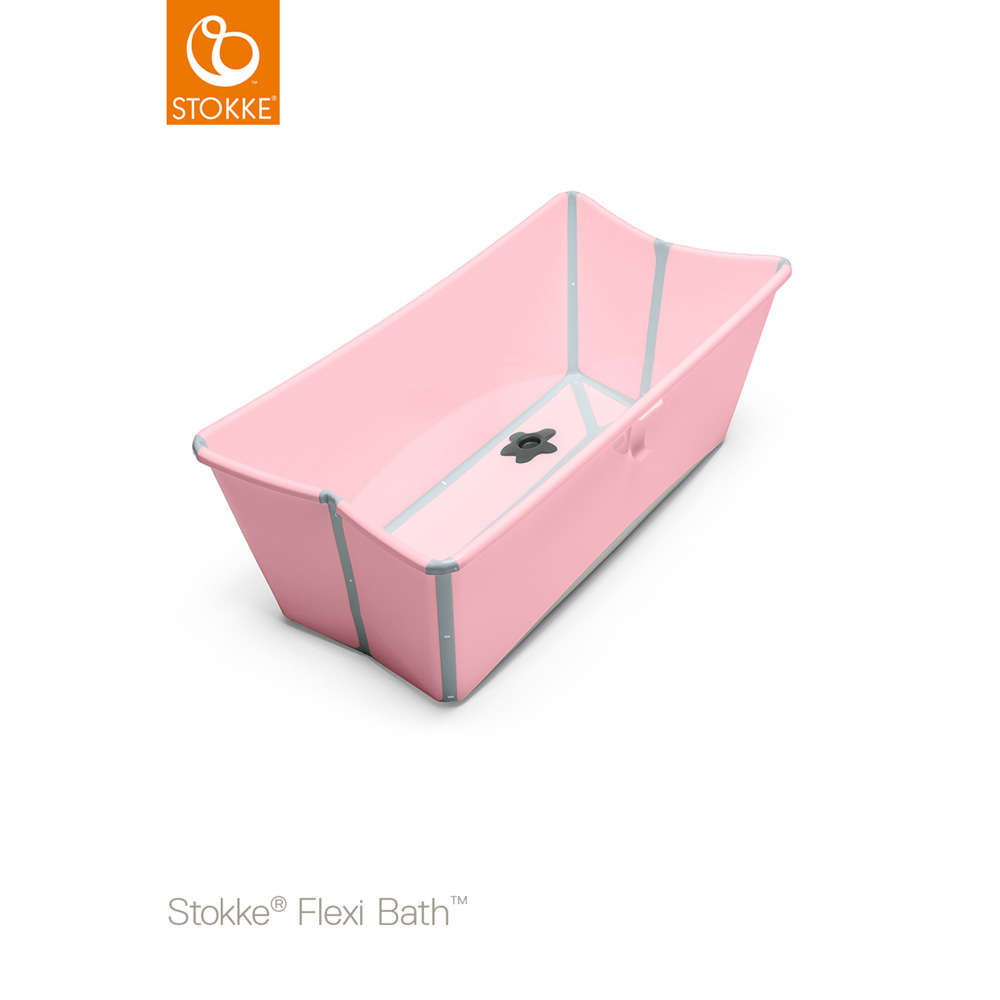 baignoire b b flexibath rose de stokke sur allob b. Black Bedroom Furniture Sets. Home Design Ideas