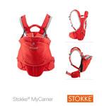 Porte bébé mycarrier rouge pas cher