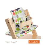 Coussin fauteuil bébé silhouette vert tripp trapp pas cher