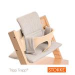 Coussin fauteuil bébé tripp trapp reflet gris pas cher