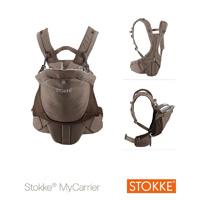 Porte bébé mycarrier marron