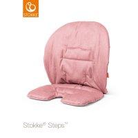 Coussin fauteuil bébé steps rose