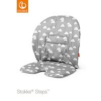 Coussin fauteuil bébé steps grey clouds
