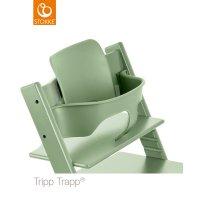 Fauteuil bébé tripp trapp baby set vert mousse