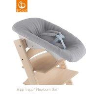 Siège newborn set gris pour chaise tripp trapp