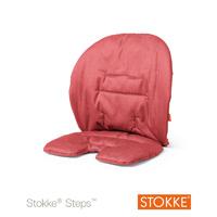 Coussin fauteuil bébé steps rouge