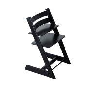 Chaise haute bébé évolutive tripp trapp noire