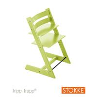 Chaise haute bébé évolutive tripp trapp vert