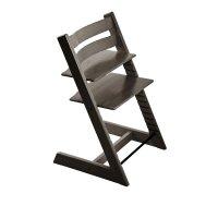 Chaise haute bébé évolutive tripp trapp gris brume