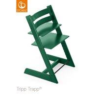 Chaise haute bébé évolutive tripp trapp vert forêt