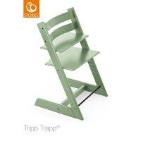 Chaise haute bébé évolutive tripp trapp vert mousse