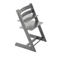 Chaise haute bébé évolutive tripp trapp gris tempête