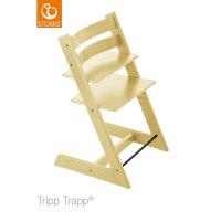 Chaise haute bébé évolutive tripp trapp jaune