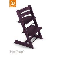Chaise haute bébé évolutive tripp trapp prune
