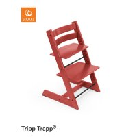 Chaise haute bébé évolutive tripp trapp warm red