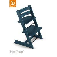 Chaise haute bébé évolutive tripp trapp bleu nuit