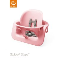 Siège stokke steps baby set rose