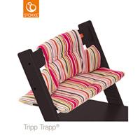 Coussin fauteuil bébé tripp trapp rayures bonbon