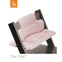 Coussin fauteuil bébé tripp trapp tweed rose