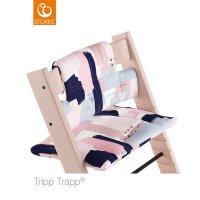 Coussin coton bio fauteuil bébé tripp trapp pinceaux