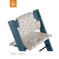 Coussin coton bio fauteuil bébé tripp trapp lapin jardin