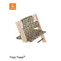 Coussin coton bio fauteuil bébé tripp trapp honeycomb happy