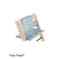 Coussin coton bio fauteuil bébé tripp trapp blue fox