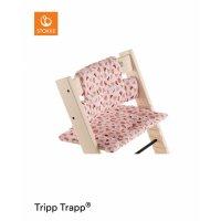 Coussin coton bio fauteuil bébé tripp trapp pink fox