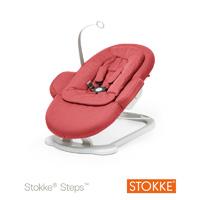 Transat bébé steps rouge