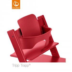 Fauteuil bébé tripp trapp baby set rouge
