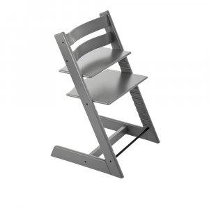 Chaise haute bébé évolutive tripp trapp gris tempête pas cher