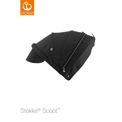 Capote pour poussette scoot noire Stokke