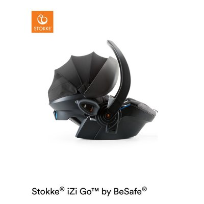 Siège auto izi go modular x1 i-size black melange groupe 0+ Stokke
