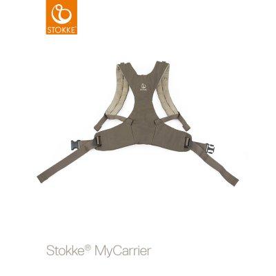 Porte bébé mycarrier ventral et dorsal Stokke