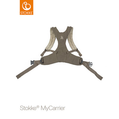 Porte bébé mycarrier ventral marron Stokke
