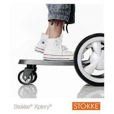 Planche à roulette pour poussette xplory Stokke