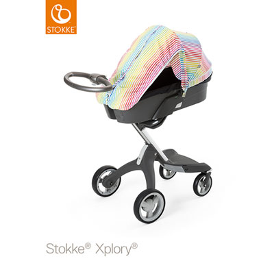 Kit été xplory raies multicolores Stokke