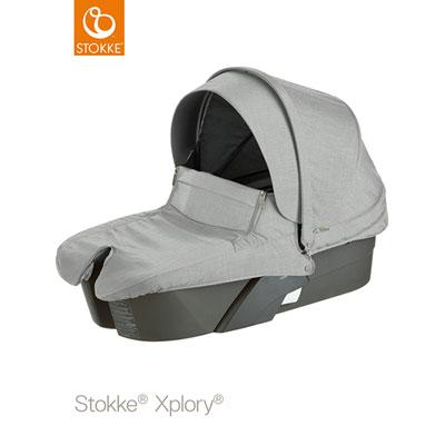Nacelle xplory gris mélange Stokke