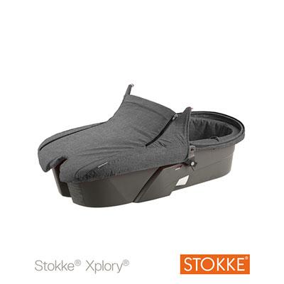Nacelle xplory noir mélange Stokke