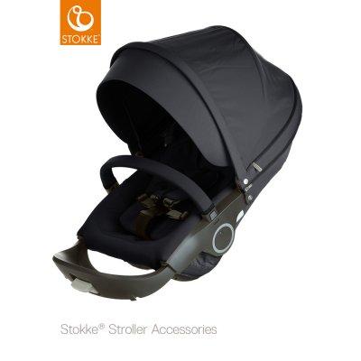 Siège complet pour poussette crusi/trailz et xplory noir Stokke
