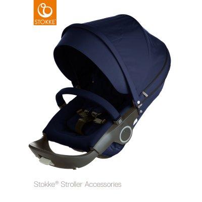 Siège complet pour poussette crusi/trailz et xplory bleu profond Stokke