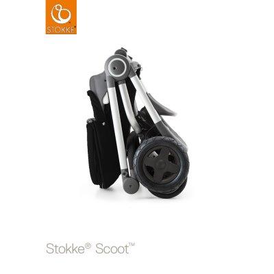 Poussette 4 roues scoot noir Stokke