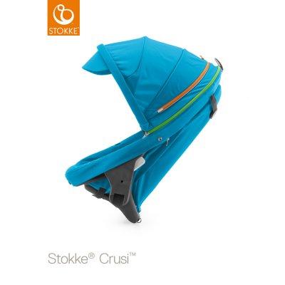 Siège supplémentaire poussette crusi urban bleu Stokke