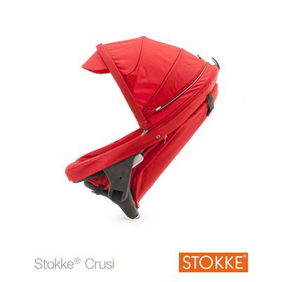 Siège supplémentaire poussette crusi rouge Stokke