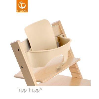 Fauteuil bébé tripp trapp baby set naturel Stokke
