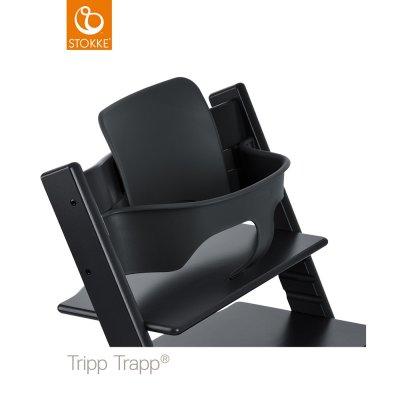 Fauteuil bébé tripp trapp baby set noir Stokke