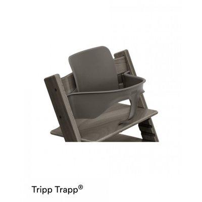 Fauteuil bébé tripp trapp baby set gris brume Stokke