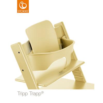 Fauteuil bébé tripp trapp baby set jaune Stokke