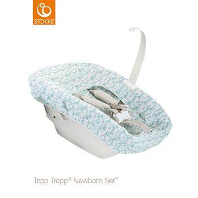 Set textile siège newborn tripp trapp aquatique Stokke