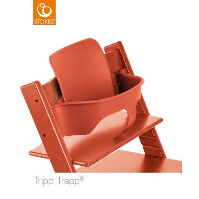 Fauteuil bébé tripp trapp baby set lava orange Stokke